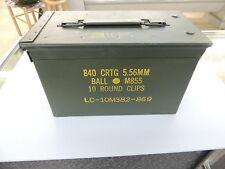 Army Ammo Box US Military Surplus LOW LOW PRICE!!