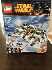 Lego Star Wars Snowspeeder set # 75049. 100% Complete with Box & Instructions