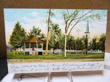 1906 Postcard Village Common Andover Maine