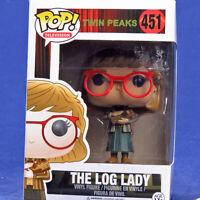 Funko Pop! Vinyl Figure Television Twin Peaks #451 Log Lady Vaulted FUN12695