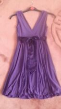 Bay Party/Prom Dress Purple Empire Line Type Style Size 8