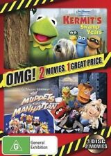 "The Muppets Take Manhattan / Kermit's Swamp Years (DVD) Region4 ""NEW AND SEALED"""