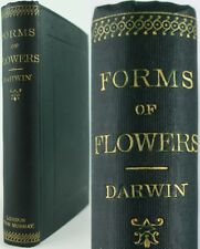 1892*CHARLES DARWIN:DIFFERENT FORMS OF FLOWERS*PLANT SPECIES/BOTANY/POLLINATION
