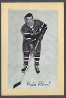 1944-63 Beehive Group 2 Photos Montreal Canadiens #283 Henri Richard