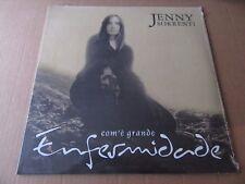 JENNY SORRENTI COM'E GRANDE CELTIC FOLK ROCK SONGWRITER ITALY POLOSUD LP LIM 300