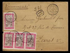 Malagasy French & Colonies Cover Stamps