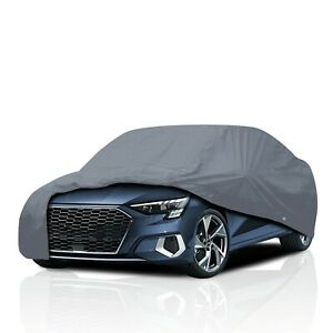 4 Layer Waterproof Car Cover for Audi 80 & 90 Coupe 1992-1996 UV Protection