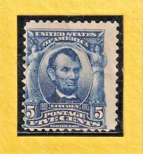 US STAMP SC# 304 5c 1903 *MINT LH. CV$60.00 613