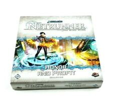 Netrunner Trading Card Game Honor and Profit Expansion Box Set