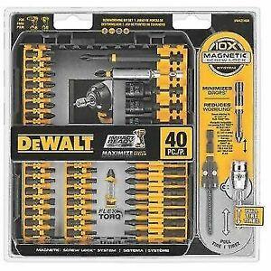 DEWALT DWA2T40IR Impact Ready FlexTorq Screw Driving Set - Pack of 40
