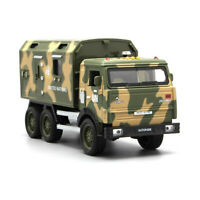 Kamaz Military Vehicle Army Truck 1:32 Car Model Metal Diecast Gift Toy Vehicle
