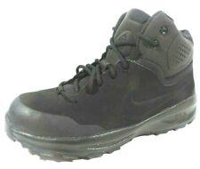 Nike Terrain Boys Boot GS 599303 001 Leather Black Hiking Outdoors Winter Rare