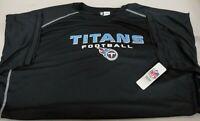 NFL Tennessee Titans Profile Big & Tall Men's Short Sleeve Screen Jersey Tee 3XL