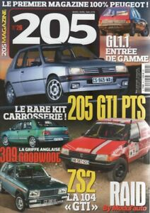 205 MAGAZINE 26 PEUGEOT 205 GL 1.1 205 TURBO 16 104 ZS2 309 GTI GOODWOOD QUASAR