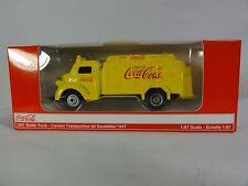 1947 Coca Cola Bottle Truck Die-Cast Metal 1/87 HO Motor City Classic