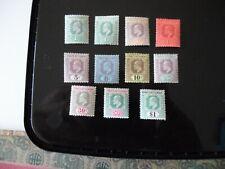Malaysia Straits Settlements 1902 SG110-119 1c - $1 M/M Crown CA Cat £100++
