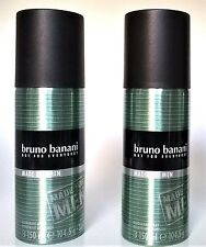 Bruno Banani Deo Spray Deodorant Made for Men 2 x 150 ml  (EUR 4,30/100 ml)