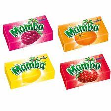 72 x MAMBA Chewy Candies (Classic - Flavor) **Original German Brand**