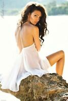 Michelle Keegan : White Dress - Maxi Poster 61cm x 91.5cm new and sealed