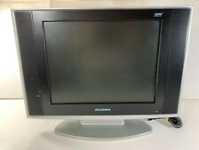 15 Inch Sylvania LD155SC8 4:3 Standard LCD TV w/ Built-In DVD Player (Working)