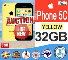 Apple iPhone 5C 32GB YELLOW Smartphone 4G like NEW UNLOCK FAST Shipping WARRANTY