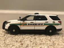 Montgomery County Tennessee custom sheriff's diecast car Motormax 1:24 scale SUV