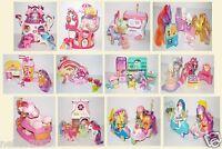 Little Pony Movie Ice Cream Gumball Walking Sweet Step Cake Rainbow House Bundle