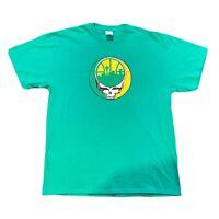Grateful Dead Seattle Super Sonics Green XL
