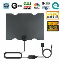 Antena de TV HDTV digital con amplificador para interiores Señal rango Receptor