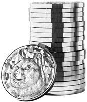 2021 DOGE Dogecoin 1oz Fine Silver BU Round Crypto Commemorative Blockchain Mint