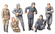TAMIYA 1/35 Russian Army Tank Crew at Rest Model Kit NEW from Japan