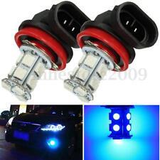 2X H11 H8 H9 DRL LED Projector Car Fog Light Bulbs Driving Lamp 10000k Deep Blue