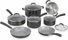 Cuisinart 11-Piece Advantage Ceramica XT Non-Stick Cookware Set - Black