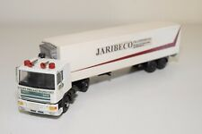 1:50 LION CAR DAF 95 TRUCK WITH TRAILER JARIBECO EXCELLENT CONDITION REPAINT