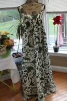 J Crew collection long floral maxi dress size 4  (DR100