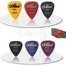 60pcs Acoustic Electric Guitar Picks Plectrum Various 6 thickness Lot