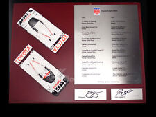 TSM11SS1 Toyota Eagle MK III Two Cars Set Signed by Juan Fangio II PJ Jones 1:43