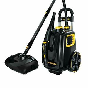 McCulloch MC1385 Deluxe Canister Steam Cleaner with 23 Accessories Chemical-F...