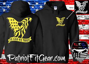 Hoodie,In God We Trust,Faith Family Freedom Flag,One Nation Under God,Sweatshirt