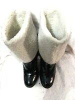 Michael Kors Women's Black Leather Boots w/ Insulation Size 5.5 M
