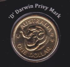 $1 Coin UNC 2011 Ram/'s Head Dollar Australian One Dollar H Hobart Privymark