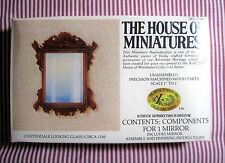 DOLLHOUSE HOUSE OF MINIATURES CHIPPENDALE LOOKING GLASS KIT, ANTIQUE REPLICA