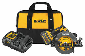 DEWALT FLEXVOLT 60V MAX BRUSHLESS 7-1/4 IN. CORDLESS CIRCULAR SAW (DCS578X1)