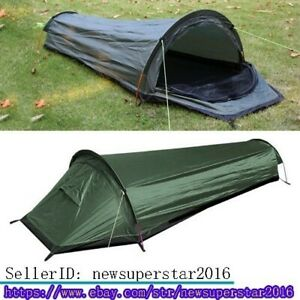 Ultralight Single Person Small Type Tent Sleeping Bag For Outdoor Yard Camping