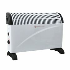 2KW Free Standing Convector Heater 3 Adjustable Heat Settings