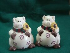 Pig Salt and Pepper Shakers  #162