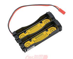 Protected Holder Case for 2S1P 7.2V 7.4V 18650 Li-ion Battery Charge/Discharge