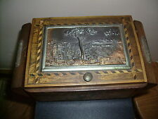 Music box / cigarette case  ash tray