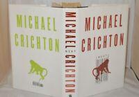** Signed Copy ** Michael Crichton Next 1st US Edition 2006