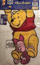New listing Disney Winnie The Pooh Piglet Hanging Fun Applique Mini Window Garden Yard Flag